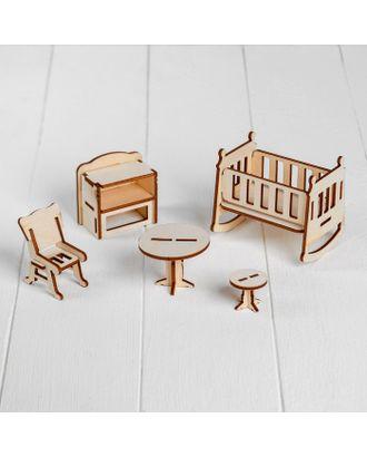 Конструктор «Детская» набор мебели арт. СМЛ-50022-1-СМЛ0002786921