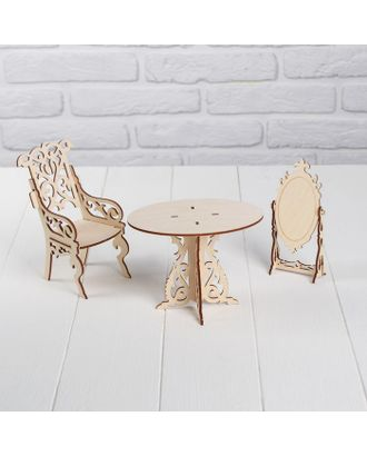 Конструктор «Туалетный столик для кукол типа Barbie» арт. СМЛ-50028-1-СМЛ0002786927