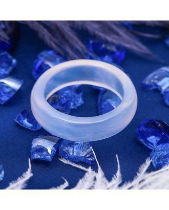 """Кольцо гладкое """"Лунный камень"""" 5мм, размер МИКС арт. СМЛ-21089-1-СМЛ2835627"""