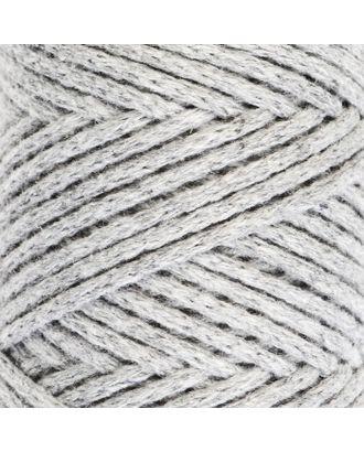 Шнур для вязания без сердечника 100% хлопок, ширина 2мм 100м/95гр (2194 св. розовый) арт. СМЛ-40116-12-СМЛ0002862151