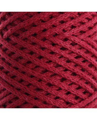 Шнур для вязания без сердечника 100% хлопок, ширина 2мм 100м/95гр (2194 св. розовый) арт. СМЛ-40116-8-СМЛ0002862157
