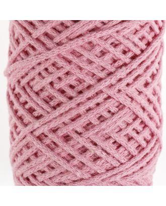 Шнур для вязания без сердечника 100% хлопок, ширина 2мм 100м/95гр (2194 св. розовый) арт. СМЛ-40116-1-СМЛ0002862160