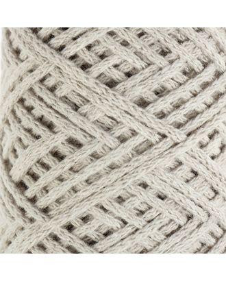 Шнур для вязания без сердечника 100% хлопок, ширина 2мм 100м/95гр (2194 св. розовый) арт. СМЛ-40116-5-СМЛ0002862163