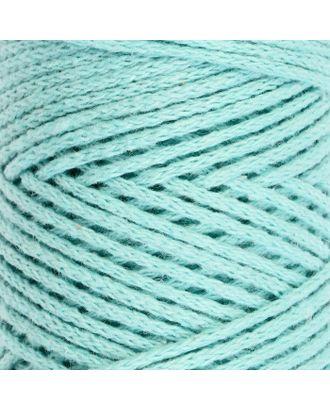 Шнур для вязания без сердечника 100% хлопок, ширина 2мм 100м/95гр (2194 св. розовый) арт. СМЛ-40116-4-СМЛ0002862166