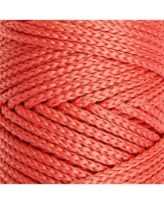 Шнур для вязания без сердечника 100% полиэфир, ширина 3мм 100м/210гр, (96 сиреневый) арт. СМЛ-40115-9-СМЛ0002862175