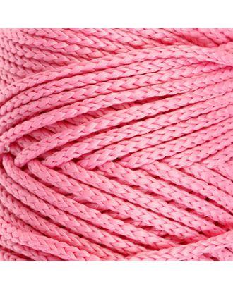 Шнур для вязания без сердечника 100% полиэфир, ширина 3мм 100м/210гр, (96 сиреневый) арт. СМЛ-40115-7-СМЛ0002862177