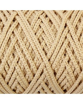 Шнур для вязания без сердечника 100% полиэфир, ширина 3мм 100м/210гр, (96 сиреневый) арт. СМЛ-40115-20-СМЛ0002862181