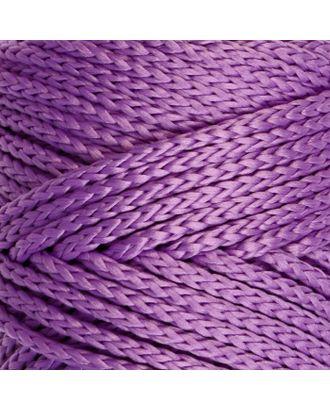 Шнур для вязания без сердечника 100% полиэфир, ширина 3мм 100м/210гр, (96 сиреневый) арт. СМЛ-40115-18-СМЛ0002862182
