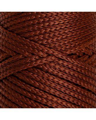 Шнур для вязания без сердечника 100% полиэфир, ширина 3мм 100м/210гр, (96 сиреневый) арт. СМЛ-40115-12-СМЛ0002862185