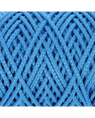 Шнур для вязания без сердечника 100% полиэфир, ширина 3мм 100м/210гр, (96 сиреневый) арт. СМЛ-40115-8-СМЛ0002862191