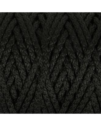 Шнур для вязания с сердечником 100% полиэфир, ширина 5 мм 100м/550гр (142 т. серый) арт. СМЛ-40118-2-СМЛ0002862194