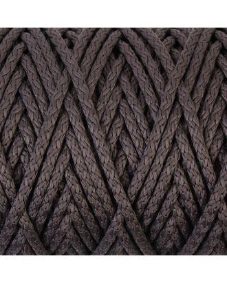 Шнур для вязания с сердечником 100% полиэфир, ширина 5 мм 100м/550гр (142 т. серый) арт. СМЛ-40118-1-СМЛ0002862195