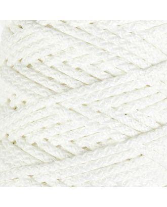 Шнур для вязания с сердечником 100% полиэфир, ширина 5 мм 100м/550гр (142 т. серый) арт. СМЛ-40118-3-СМЛ0002862196