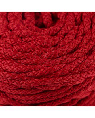 Шнур для вязания с сердечником 100% полиэфир, ширина 5 мм 100м/550гр (142 т. серый) арт. СМЛ-40118-4-СМЛ0002862197