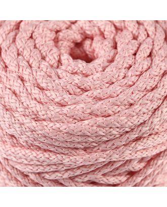 Шнур для вязания с сердечником 100% полиэфир, ширина 5 мм 100м/550гр (142 т. серый) арт. СМЛ-40118-24-СМЛ0002862201