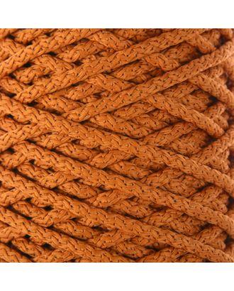 Шнур для вязания с сердечником 100% полиэфир, ширина 5 мм 100м/550гр (142 т. серый) арт. СМЛ-40118-23-СМЛ0002862207