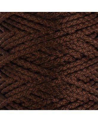 Шнур для вязания с сердечником 100% полиэфир, ширина 5 мм 100м/550гр (142 т. серый) арт. СМЛ-40118-11-СМЛ0002862208