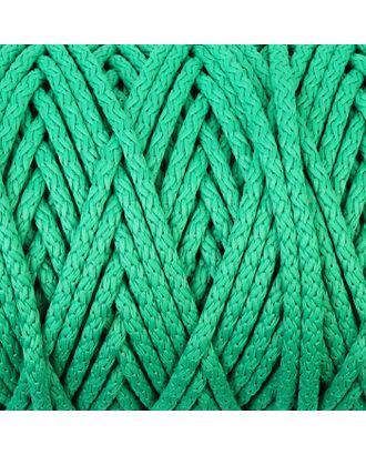 Шнур для вязания с сердечником 100% полиэфир, ширина 5 мм 100м/550гр (142 т. серый) арт. СМЛ-40118-12-СМЛ0002862209
