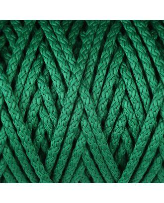 Шнур для вязания с сердечником 100% полиэфир, ширина 5 мм 100м/550гр (142 т. серый) арт. СМЛ-40118-13-СМЛ0002862210