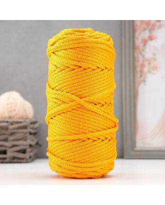 Шнур для вязания с сердечником 100% полиэфир, ширина 5 мм 100м/550гр (142 т. серый) арт. СМЛ-40118-16-СМЛ0002862213