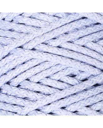 Шнур для вязания с сердечником 100% полиэфир, ширина 5 мм 100м/550гр (142 т. серый) арт. СМЛ-40118-18-СМЛ0002862215
