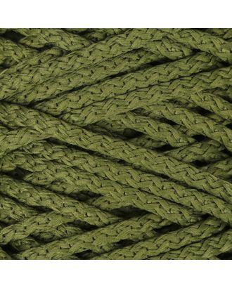 Шнур для вязания с сердечником 100% полиэфир, ширина 5 мм 100м/550гр (142 т. серый) арт. СМЛ-40118-19-СМЛ0002862216