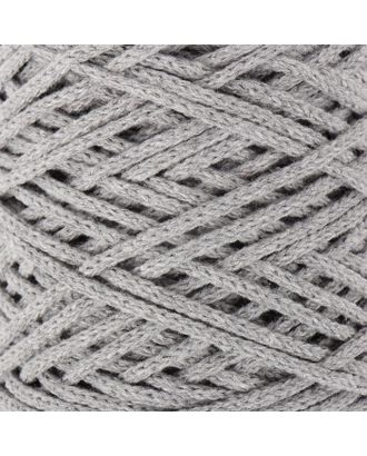Шнур для вязания без сердечника 100% хлопок, ширина 3мм 100м/250гр (2172 бордовый) МИКС арт. СМЛ-40117-8-СМЛ0002865890