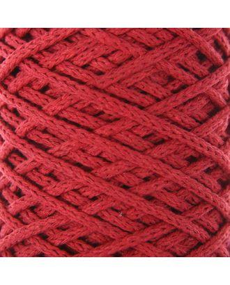 Шнур для вязания без сердечника 100% хлопок, ширина 3мм 100м/250гр (2172 бордовый) МИКС арт. СМЛ-40117-1-СМЛ0002865896