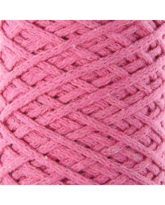 Шнур для вязания без сердечника 100% хлопок, ширина 3мм 100м/250гр (2172 бордовый) МИКС арт. СМЛ-40117-2-СМЛ0002865898