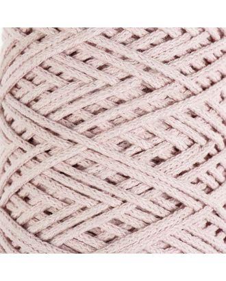 Шнур для вязания без сердечника 100% хлопок, ширина 3мм 100м/250гр (2172 бордовый) МИКС арт. СМЛ-40117-7-СМЛ0002865900