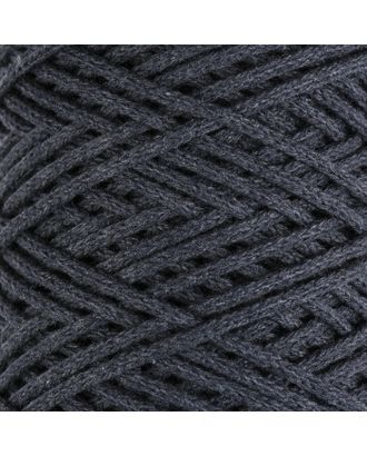 Шнур для вязания без сердечника 100% хлопок, ширина 3мм 100м/250гр (2172 бордовый) МИКС арт. СМЛ-40117-3-СМЛ0002865906