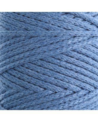 Шнур для вязания без сердечника 100% хлопок, ширина 3мм 100м/250гр (2172 бордовый) МИКС арт. СМЛ-40117-4-СМЛ0002865907