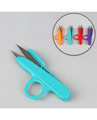 Ножницы для обрезки ниток, 12 см, цвет МИКС арт. СМЛ-6590-1-СМЛ0029272