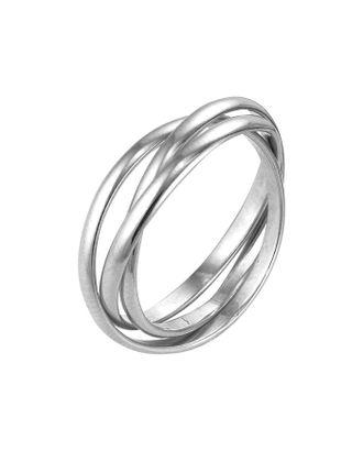 """Кольцо посеребрение """"Три нити"""", 18 размер арт. СМЛ-20935-3-СМЛ2928625"""