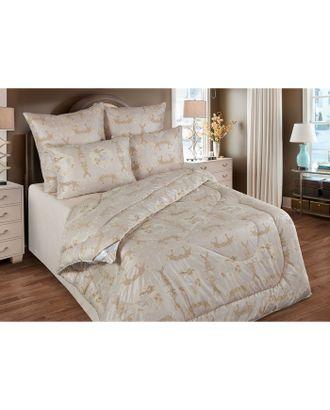Одеяло облегченное 140х205 см, шерсть верблюда, ткань глосс-сатин, п/э 100% арт. СМЛ-35377-1-СМЛ0002935811