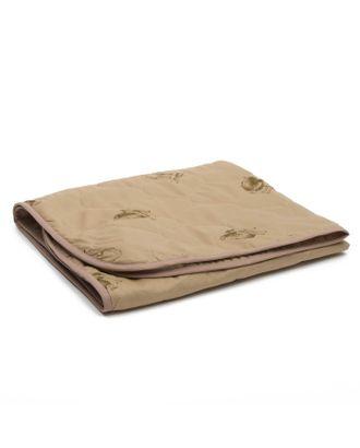 Одеяло АДЕЛЬ Эконом 105х140см, цв.МИКС, верблюд облегч. 150г/м, пэ100% арт. СМЛ-26047-1-СМЛ2981937