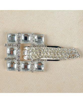 Застежка для шубы р.3,1х6,2 см арт. СМЛ-7135-1-СМЛ3002766
