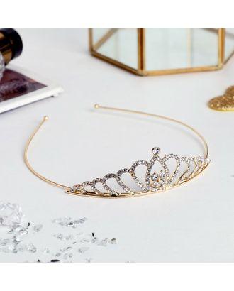 """Диадема для волос """"Принцесса"""" 3 см бабочка арт. СМЛ-26066-1-СМЛ3033717"""