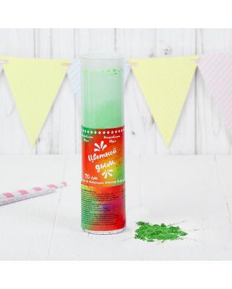 Хлопушка - цветной дым «Яркий взрыв эмоций», зелёный, 20 см арт. СМЛ-55197-1-СМЛ0003035073