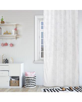 Комплект штор Hello Kitty, 150х270 см - 2 шт., цвет белый вуаль арт. СМЛ-7428-1-СМЛ3161350