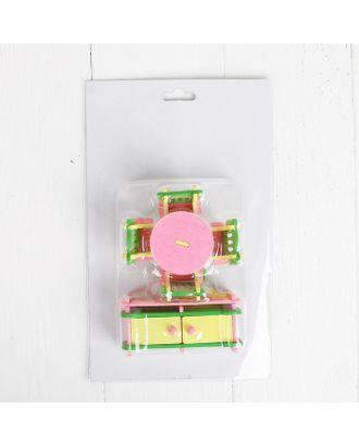 Мебель для кукол «Столовая», розовая арт. СМЛ-8018-1-СМЛ3223339