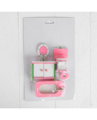 Мебель для кукол «Ванная с зеркалом» арт. СМЛ-8021-1-СМЛ3223342