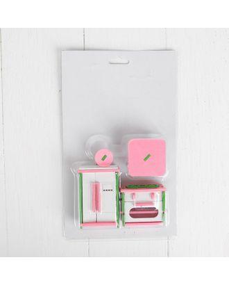 """Мебель для кукол """"Кухня с холодильником"""" арт. СМЛ-8023-1-СМЛ3223344"""