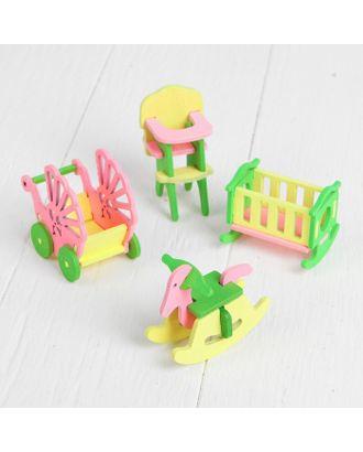 Мебель для кукол «Детская» арт. СМЛ-8024-1-СМЛ3223345