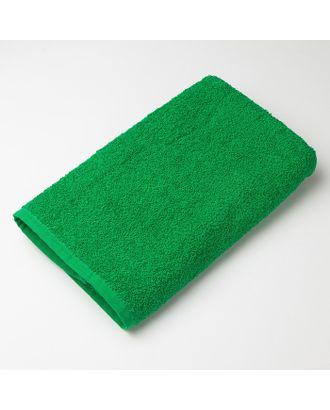 """Полотенце махровое """"Экономь и Я"""" 100х150 см зелёное яблоко, 100% хлопок, 340 г/м² арт. СМЛ-19724-1-СМЛ3231635"""