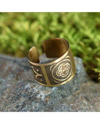 Перстень «Род», медь, D=17-23 мм арт. СМЛ-22233-2-СМЛ3233168