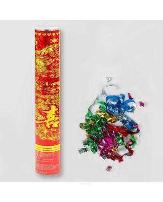 Хлопушка поворотная «Птица счастья», конфетти, серпантин, фольга арт. СМЛ-48789-1-СМЛ0000324627
