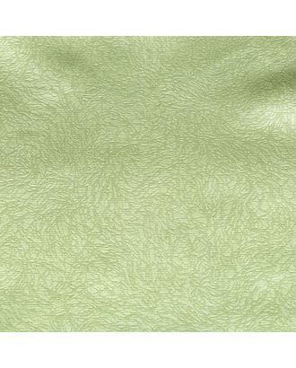 """Штора портьерная """"Этель"""" 200х250 см, цвет зелёный, сатен, 100% п/э арт. СМЛ-111270-1-СМЛ0003277212"""