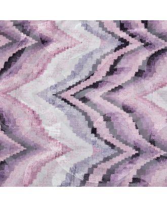 Штора тюлевая сетка с бархатом Этель «Памир» 240х250 см арт. СМЛ-125752-1-СМЛ0003277314
