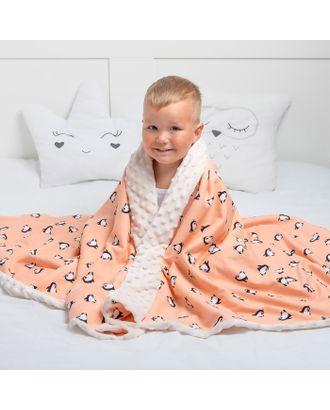 Одеяло Крошка Я 110×140 см, цв. белый, хлопок/полиэстер арт. СМЛ-22671-2-СМЛ3288696